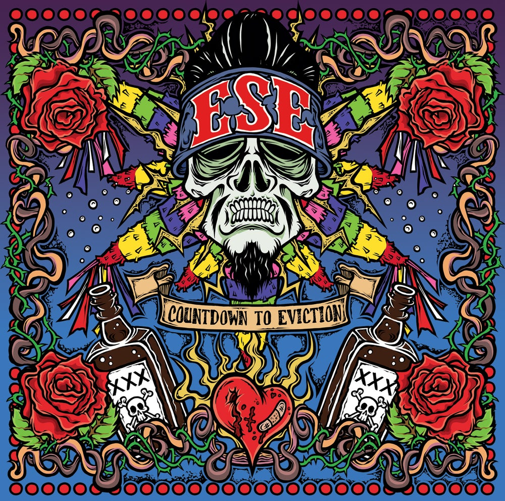 "Image of ESE- ""Countdown To Eviction"" CD"