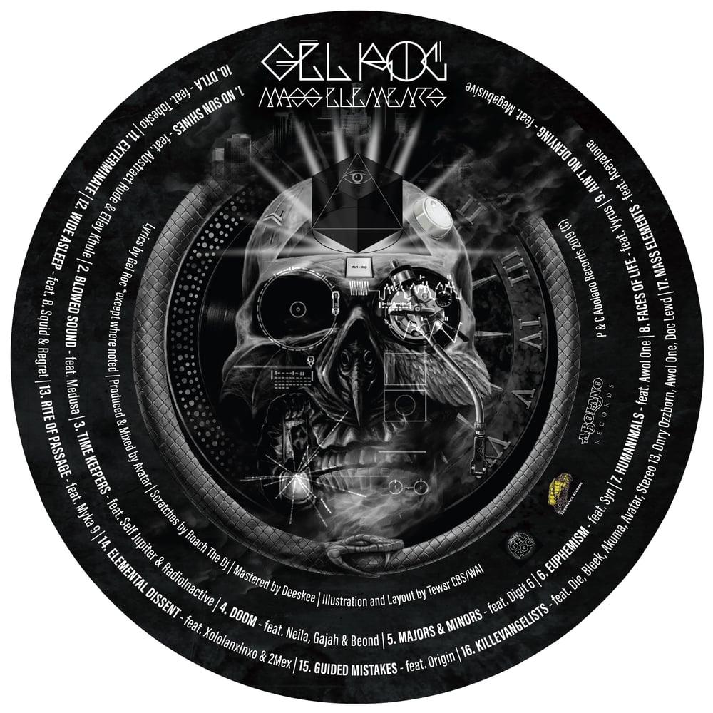 Image of GEL ROC - MASS ELEMENTS (CD)