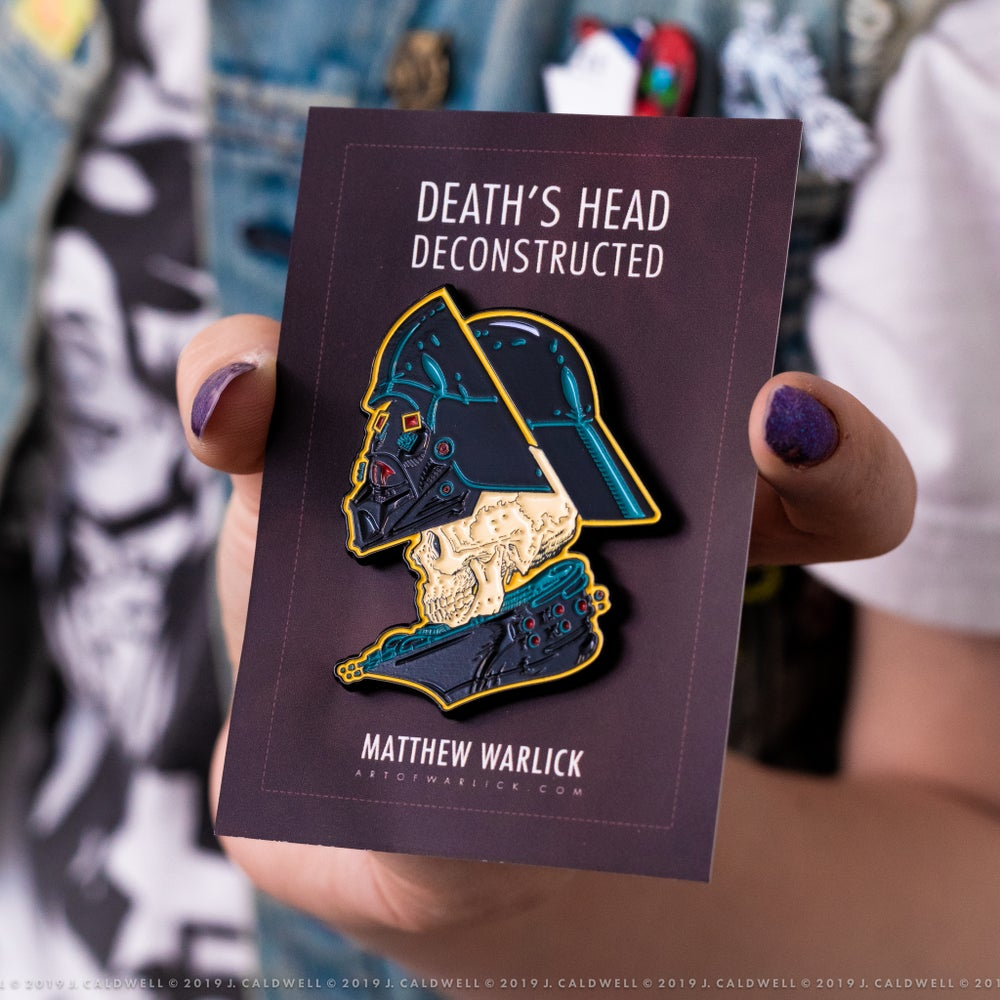 Image of Death's Head | Enamel Pin (May the 4th Release)