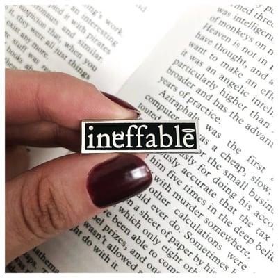 Image of Ineffable Enamel Pin
