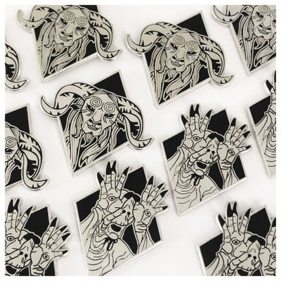 Image of Pan's Labyrinth Enamel Pins