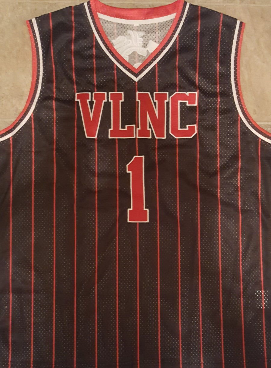 Image of VLNC :  LIMITED EDTION  VLNC BASKETBALL JERSEYS