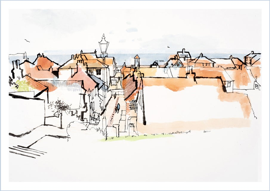 Image of Aldeburgh view - greetings card