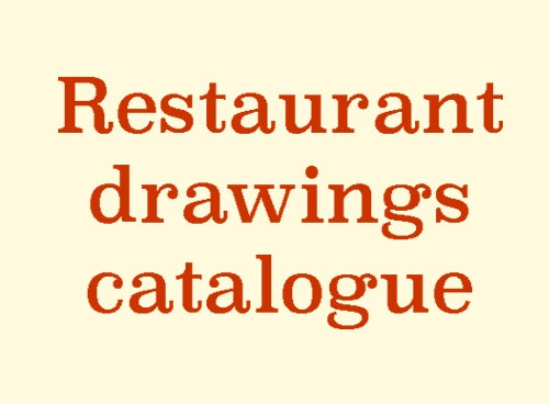 Image of Online catalogue of restaurant drawings