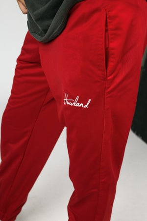 Image of RED JOGGER