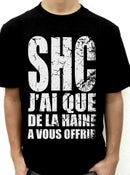 "Image of T Shirt ""Haine"""