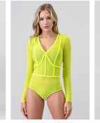 Image of Mesh bodysuit
