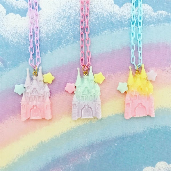 Image of Dreamy Castle Necklace
