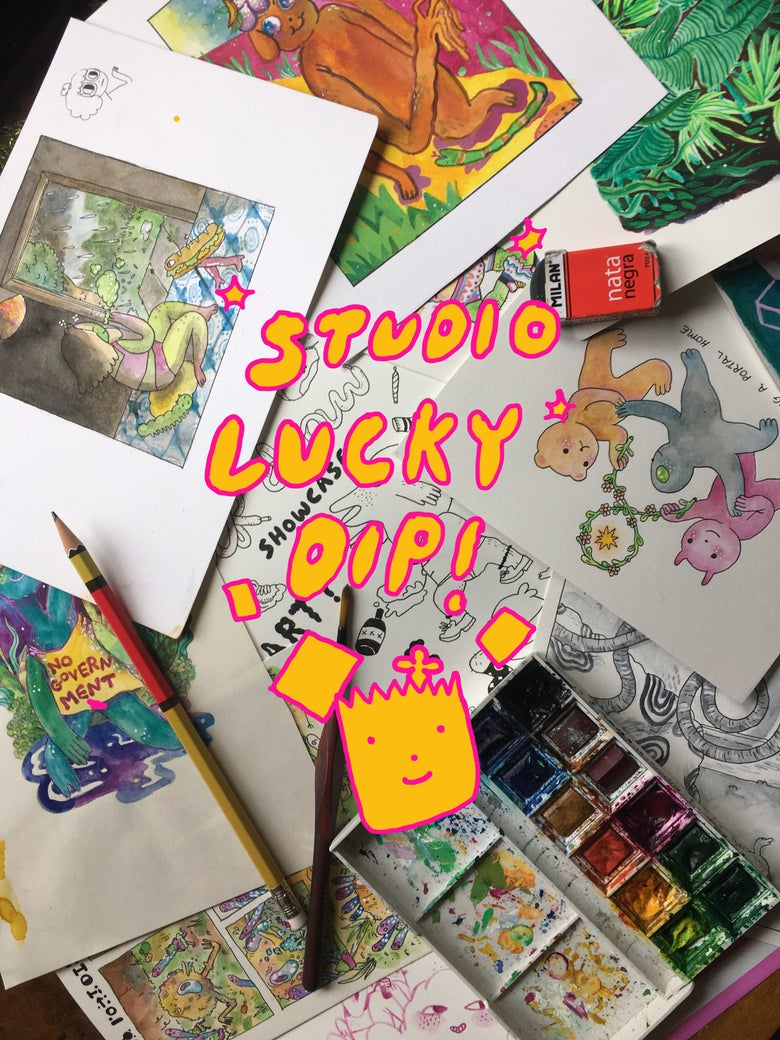 Image of studio lucky dip pack!