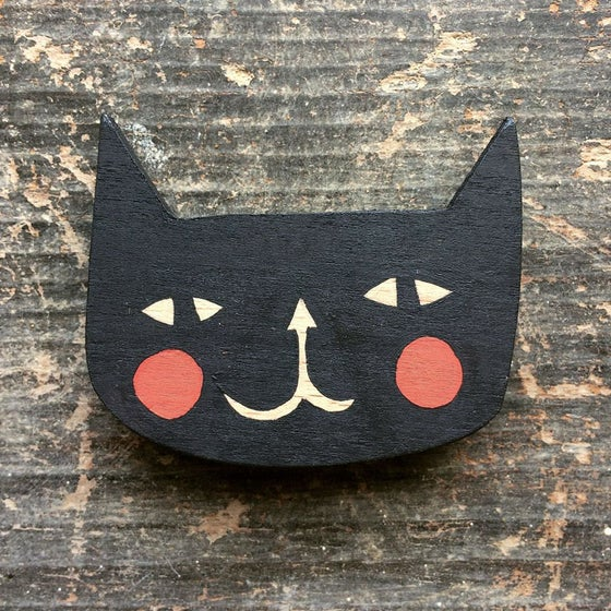 Image of Cat Brooch