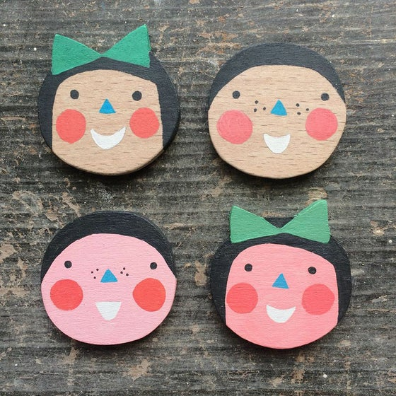 Image of Smile Brooches