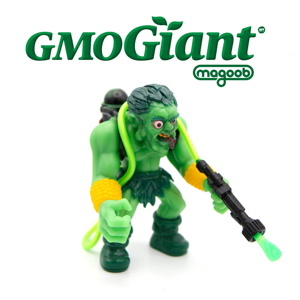 Image of Genetically Modified Green Giant