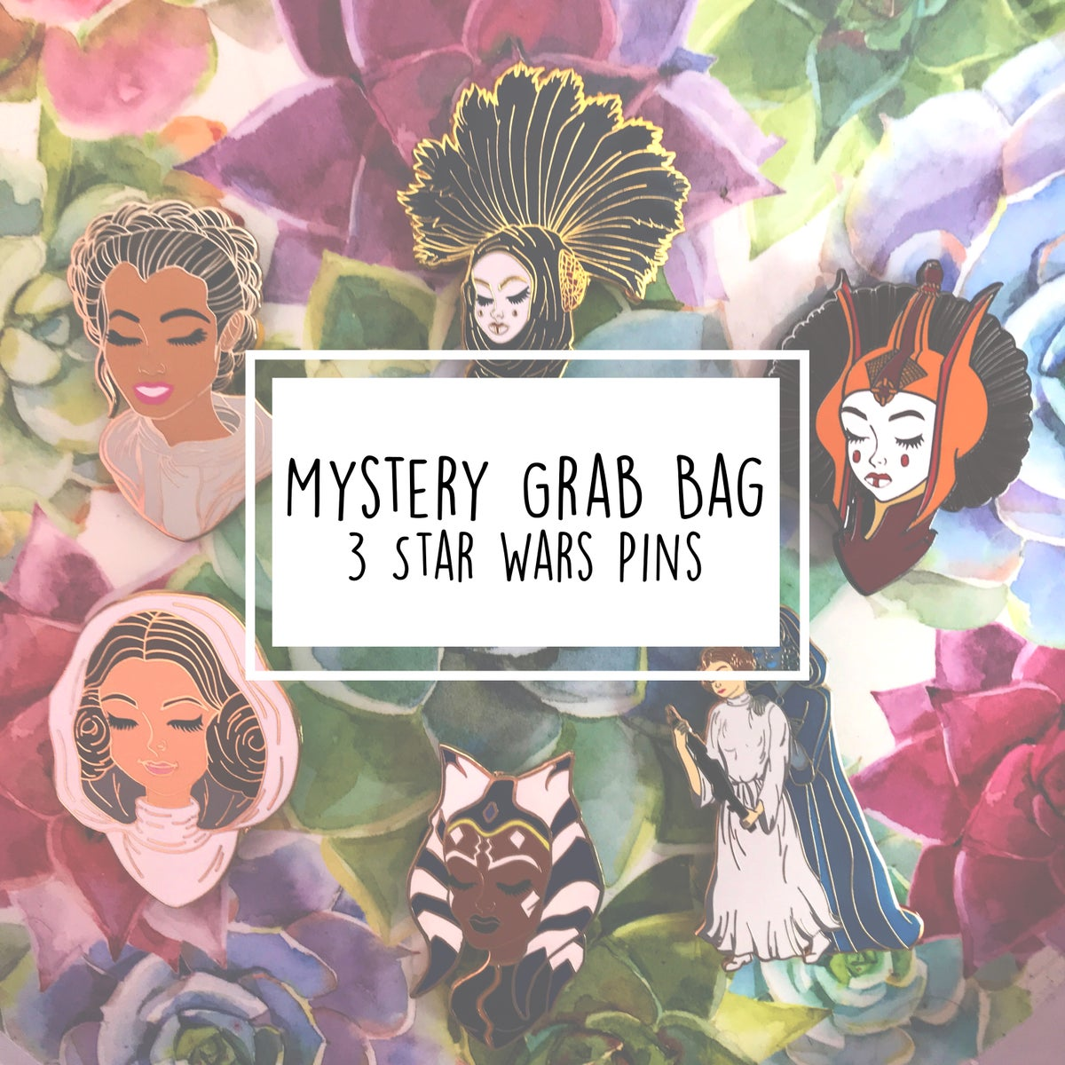 Image of Mystery Grab Bag: 3 Star Wars Enamel Pins