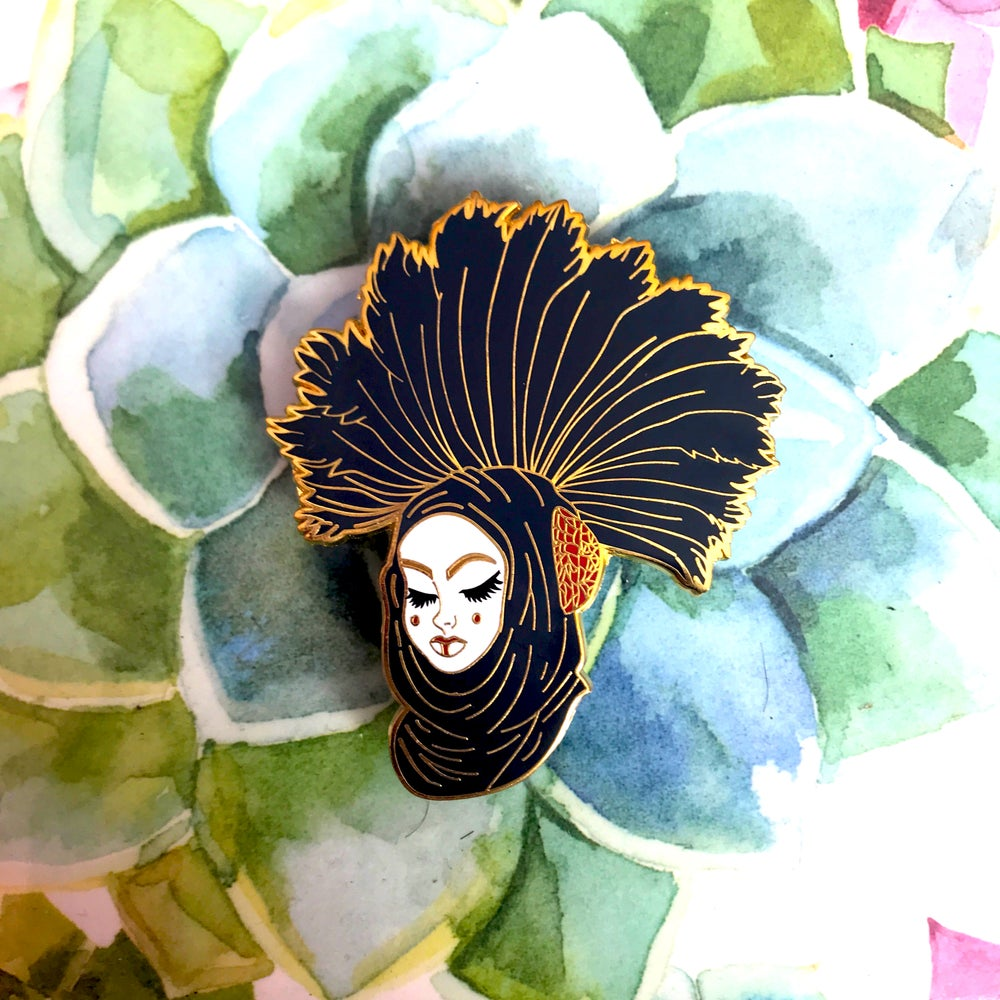Image of Sabe Enamel Pin