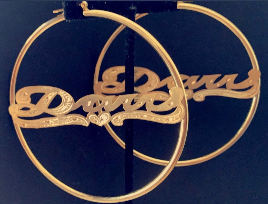 Image of Plain Jane Gold Hoops