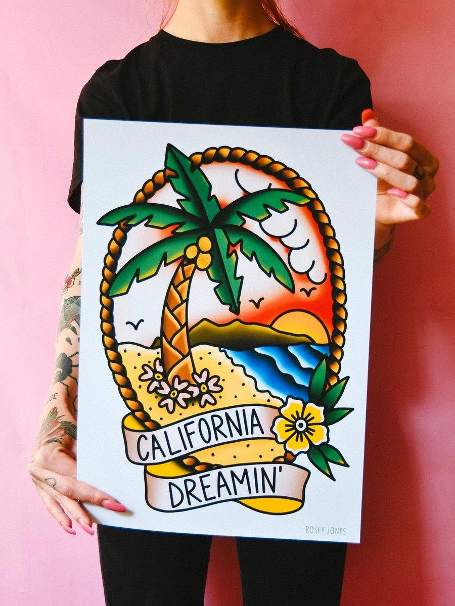 Image of Print California Dreamin'
