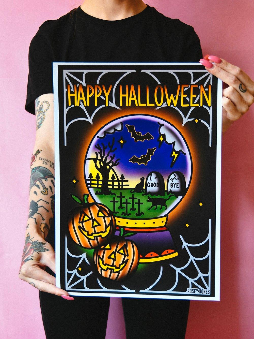 Image of Print Halloween II