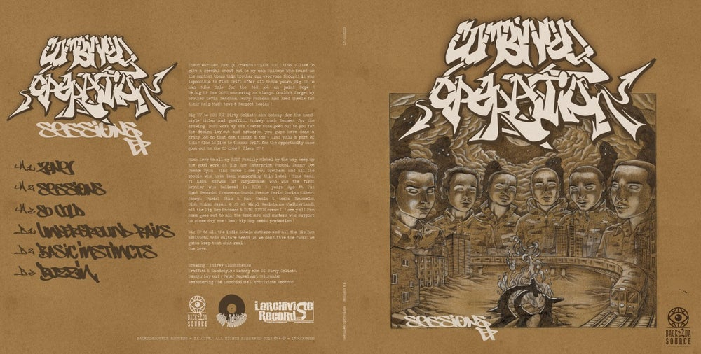 """Image of Combined Operation - Sessions EP (1998) (Vinyl, 12"""") PRE ORDER NOW"""