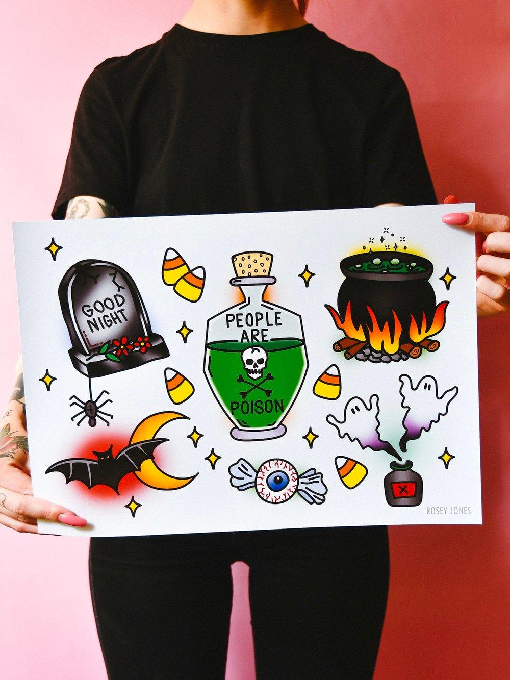 Image of Print Halloween I
