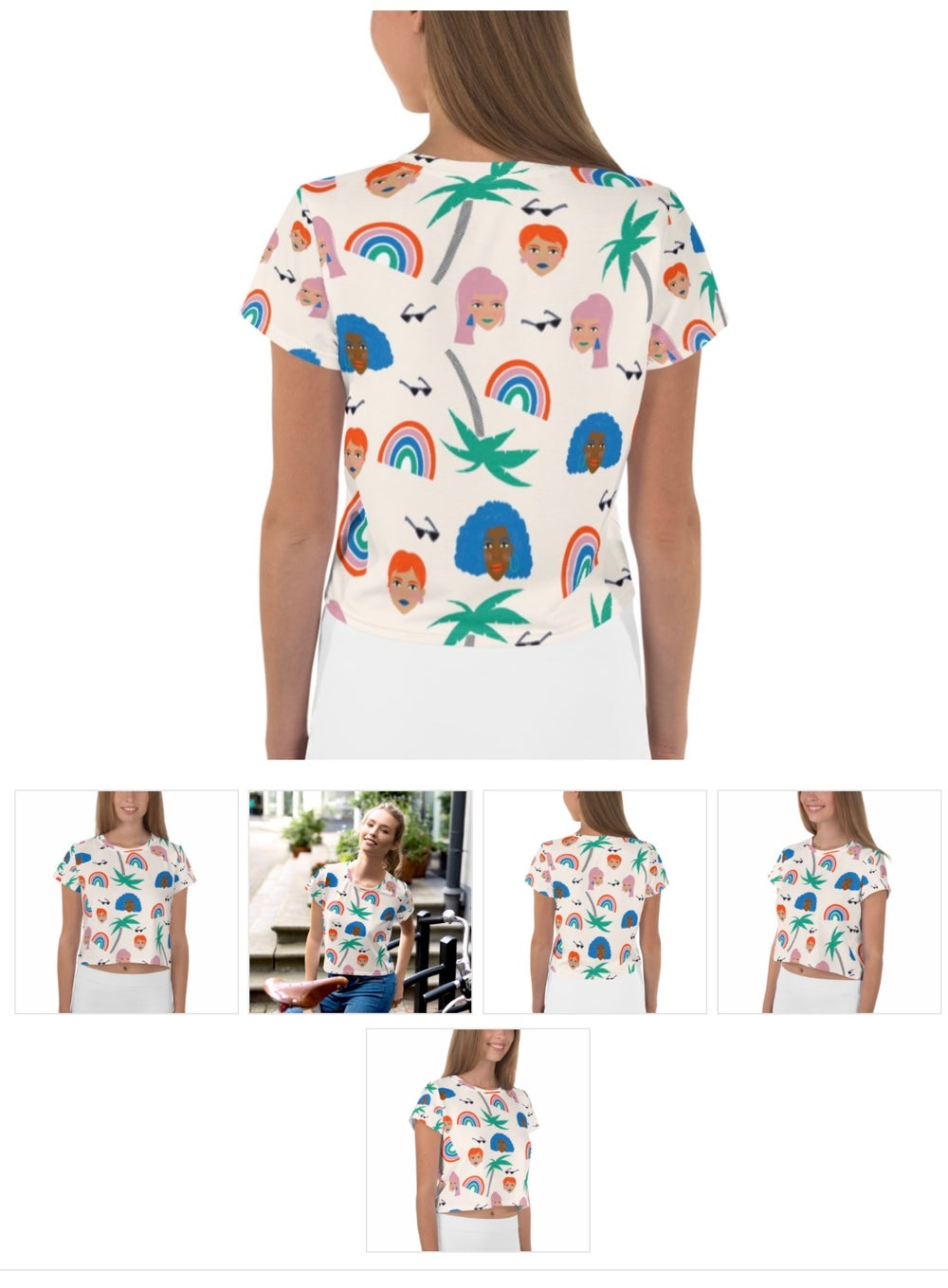 Image of Babes in the Tropic Crop Top