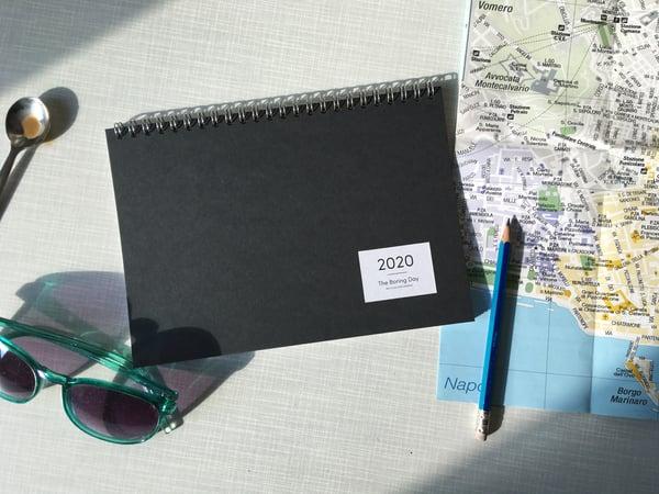 Image of Desktop Journal 2020 Coal