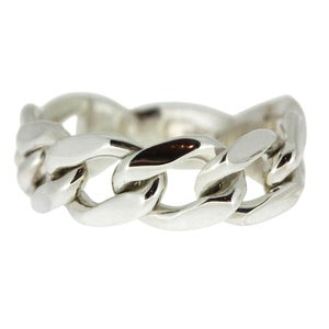 Image of Medium Silver Chain Ring