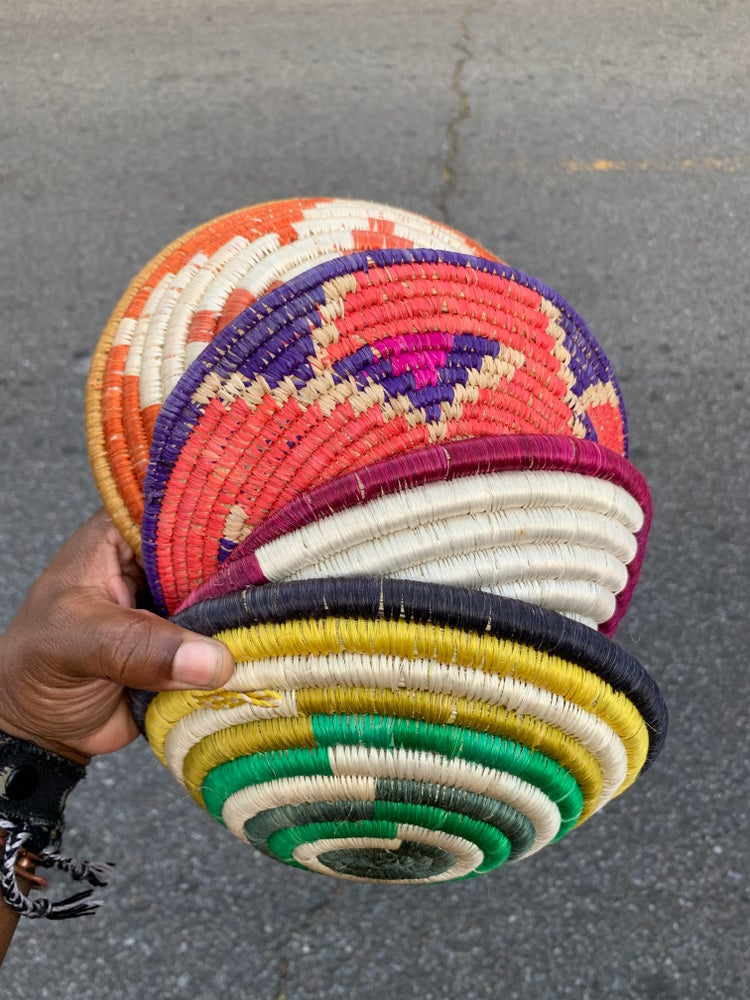 Image of •dimú• woven sisal baskets
