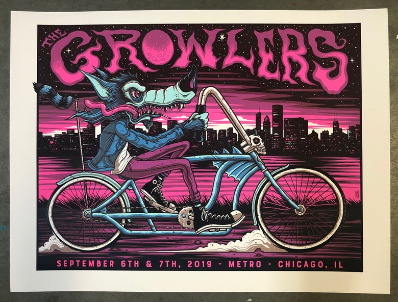 Image of The Growlers - Chicago, IL - September 6-7, 2019 - Artist Edition