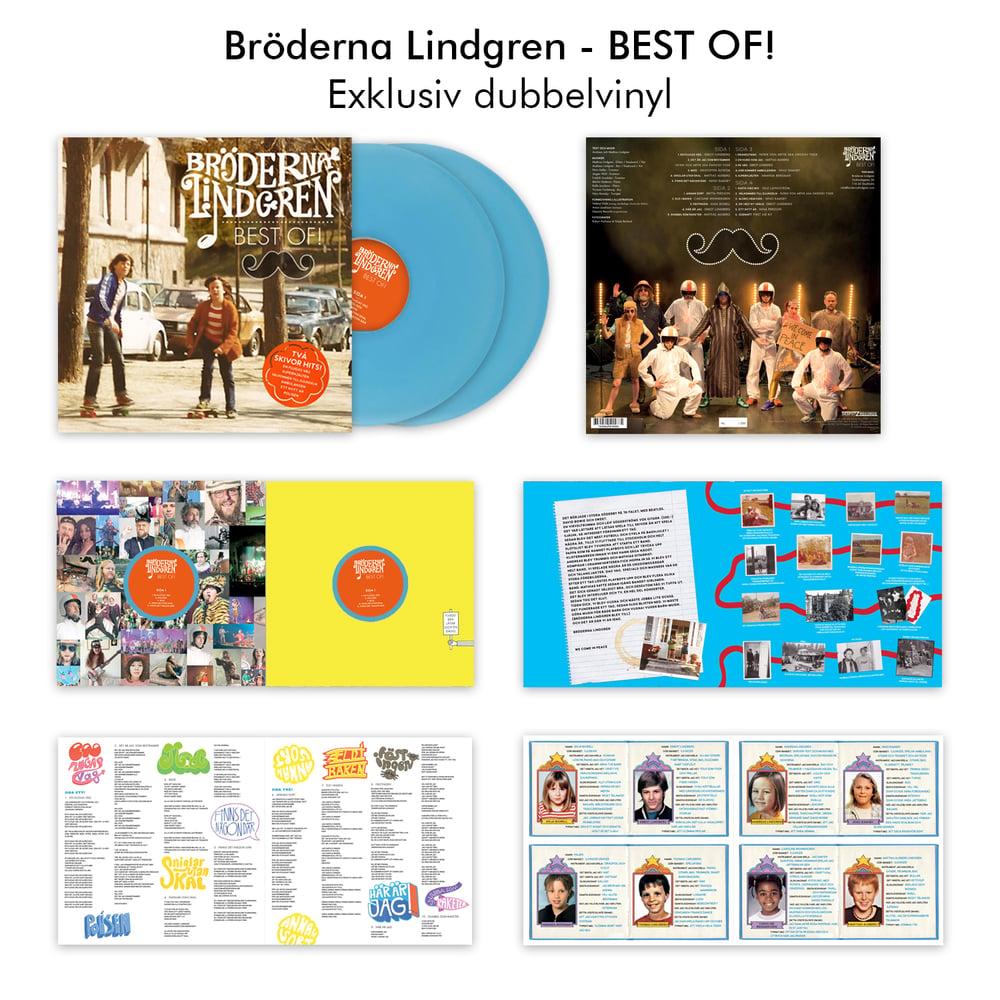 Image of Bröderna Lindgren - Best Of!  (exklusiv dubbelvinyl)