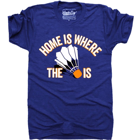 Image of Home is where the 🏸 is