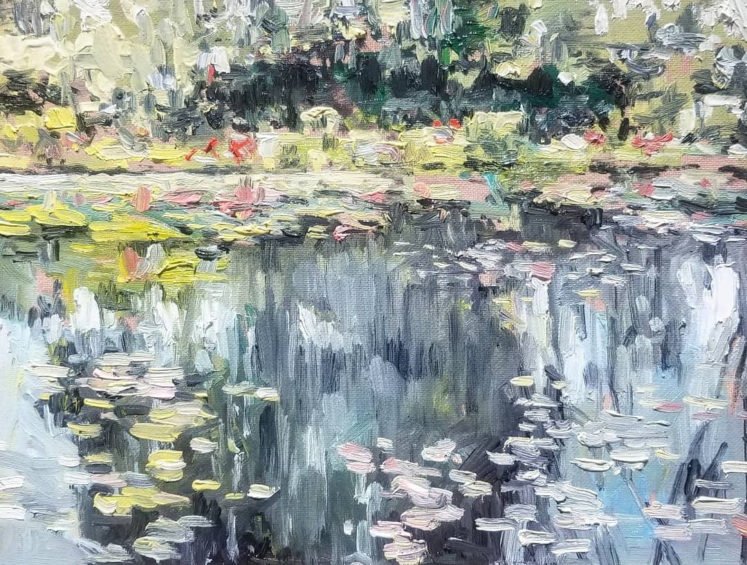 Image of ORIGINAL Monet Garden