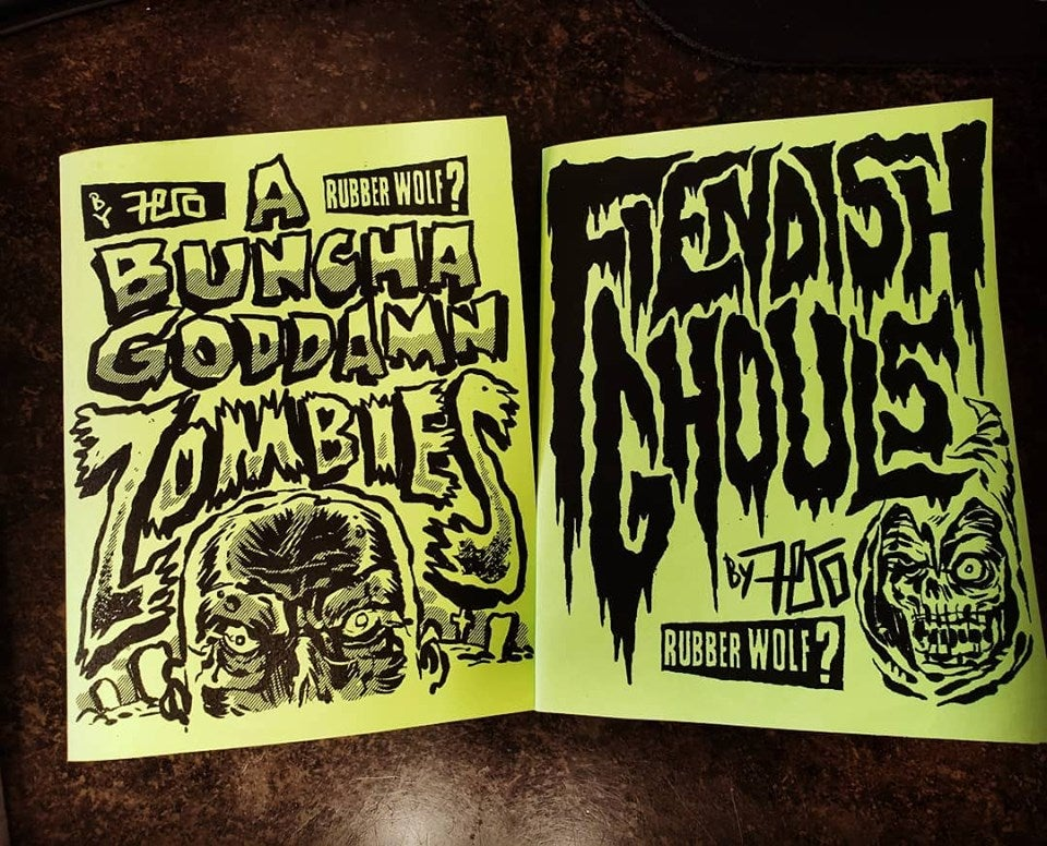 Image of Mini Art Zines