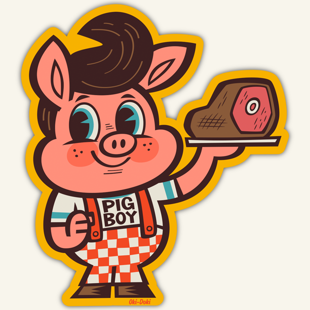 Image of PIGBOY / STICKER