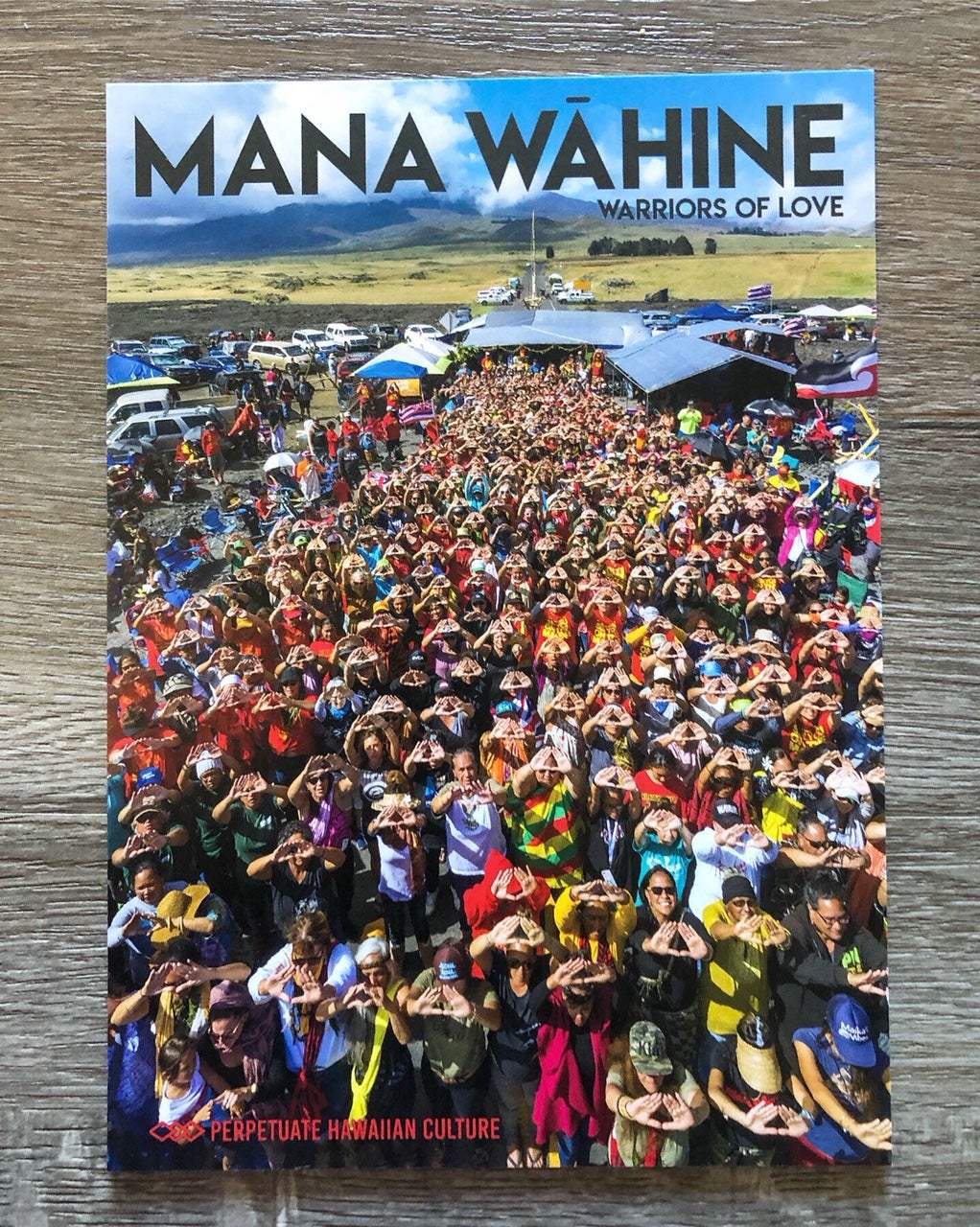 Image of Perpetuate Hawaiian Culture X Valen Ahlo: Limited Edition Mana Wāhine Postcard