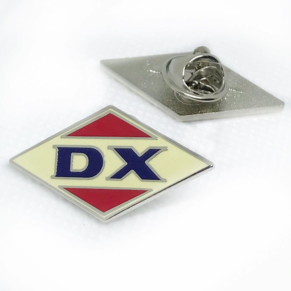 Image of DX Gas Station Replica Pin