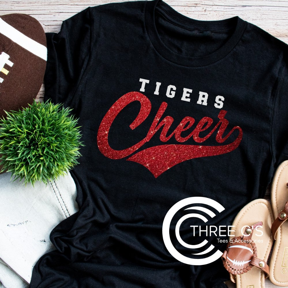 Image of Cheer Swoosh Tee