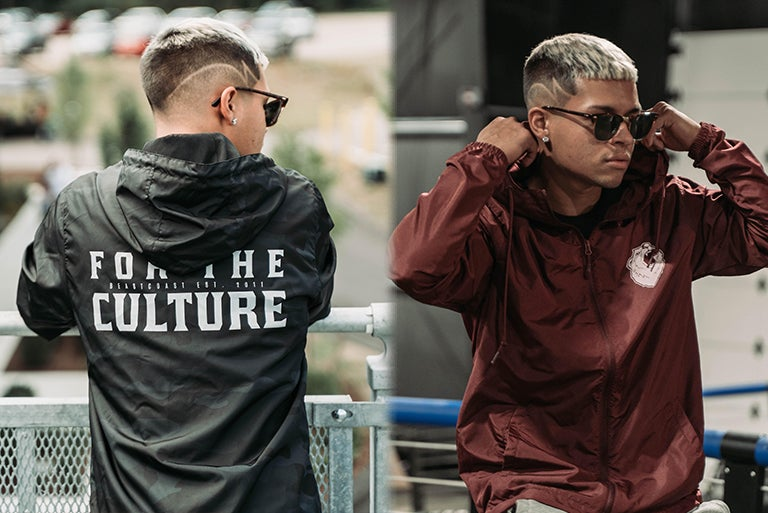 Image of 'For The Culture' Windbreaker