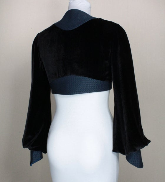 Image of Noir and Midnight Leone Bolero Jacket