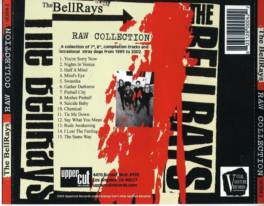 Image of Raw Collection Vol 1 - CD