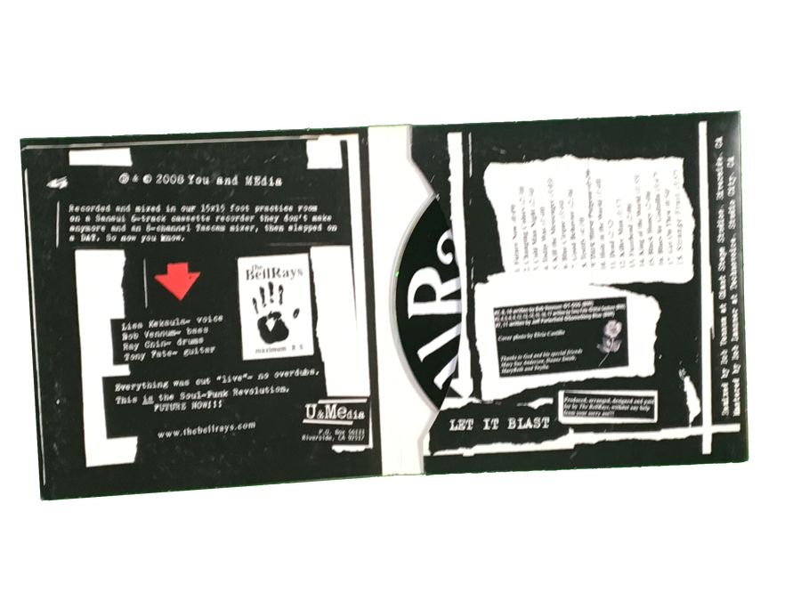 Image of Let It Blast (Re-mixed and Re-Mastered) - CD