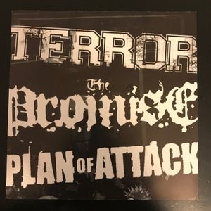 """Image of TERROR / THE PROMISE/ PLAN OF ATTACK 5 x 7"""" pack"""