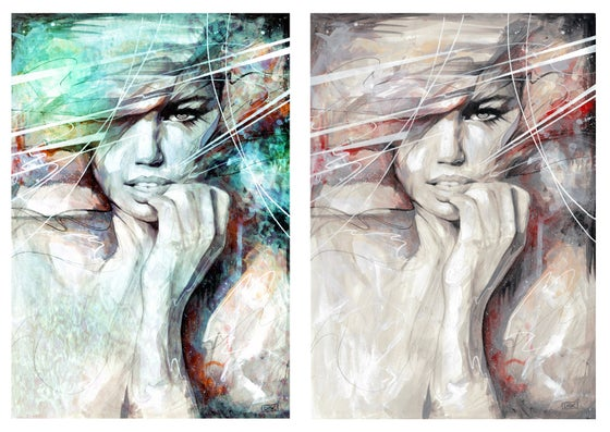"""Image of """"Twisted Kind Of Bliss"""" OPEN EDT PRINT - FREE WORLDWIDE SHIPPING"""