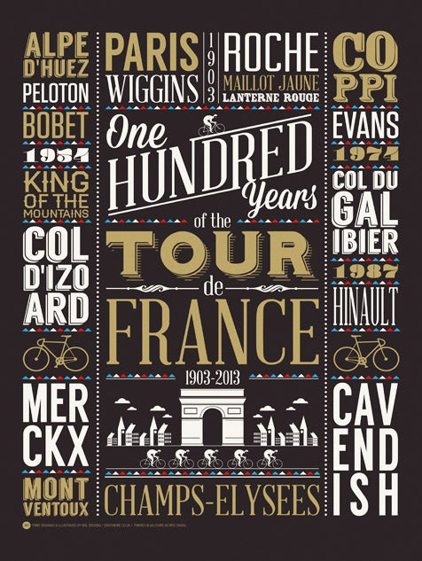 Image of Tour de France 100 Years (Sale/Return)