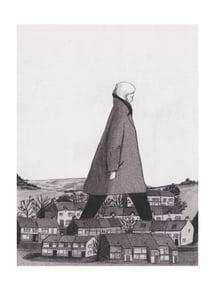 """Image of """"Hometown Hero"""" Print by Lizzy Stewart"""