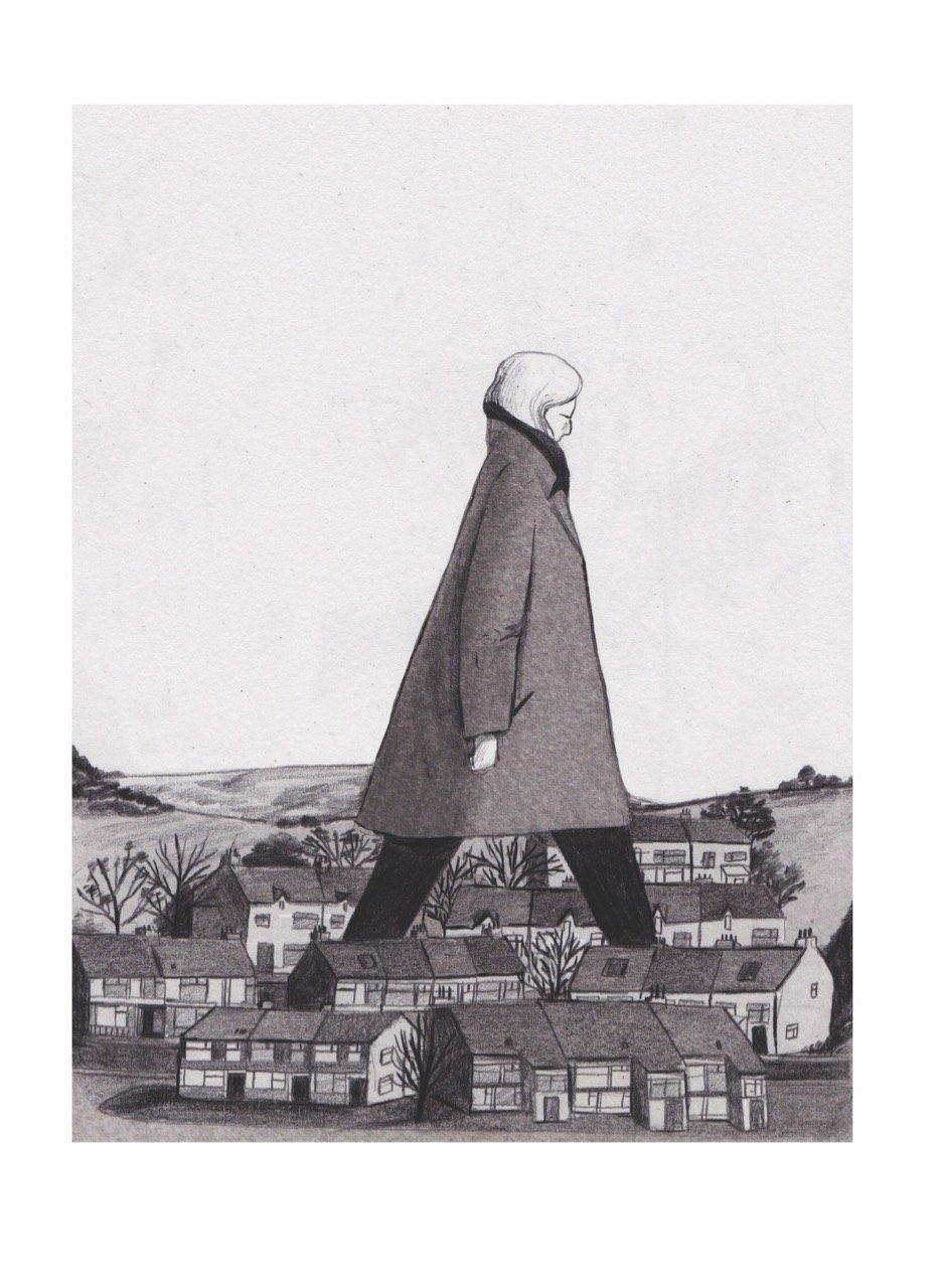 """""""Hometown Hero"""" Print by Lizzy Stewart"""
