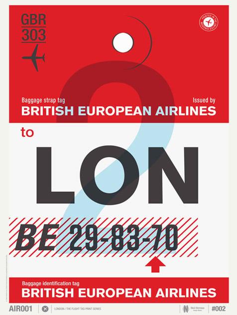 Image of London LON (Sale/Return)