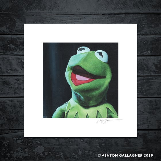 Image of KERMIT MINI PRINT