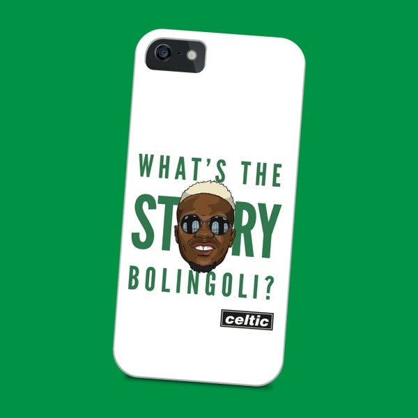 Image of What's the story Bolingoli? phone case