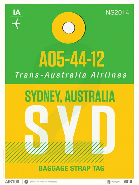Image of Sydney (Sale/Return)