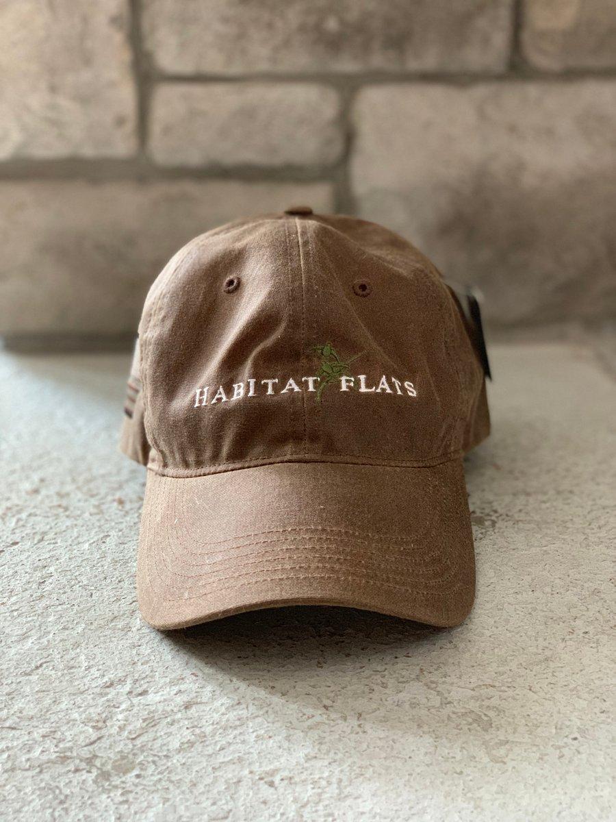 Image of Habitat Flats Richardson Waxed Canvas Hat